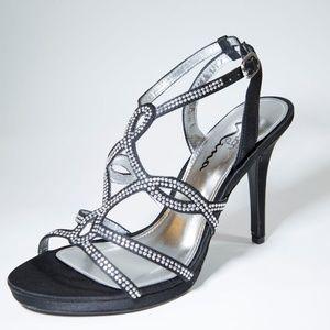 Black Womens High Heels Dress Formal Shoes